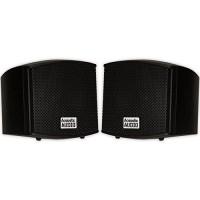 Acoustic Audio AA321B Surround Speakers, Black, Set of 2