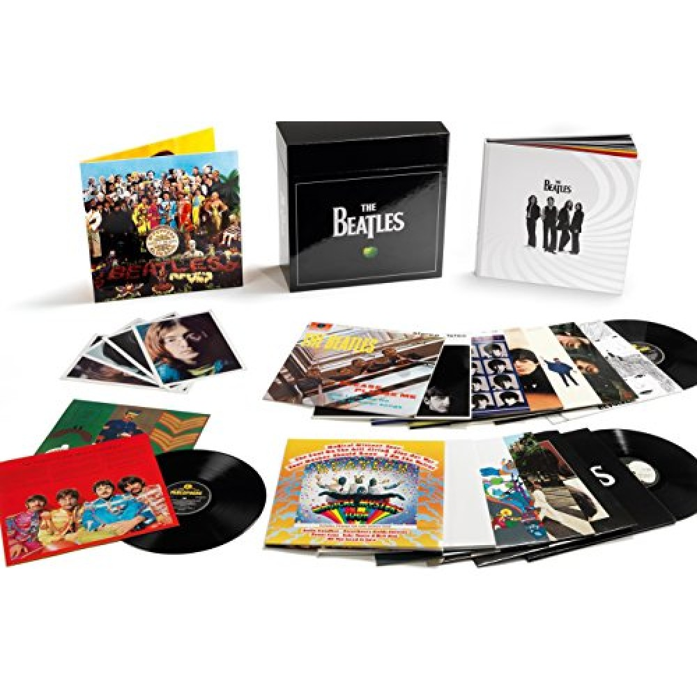 Beatles The The Stereo Vinyl Box Set 16lp 14 Album