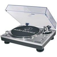 Audio-Technica AT-LP120-USB USB and Analog Professional Silver Turntable (Certified Refurbished)