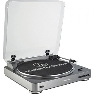 Audio Technica AT-LP60USB Turntable with USB + AT-6012 Record Cleaner Kit