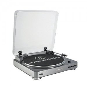 Audio Technica Fully Automatic Record Turntable with USB Port AT-LP60-USB (Certified Refurbished)