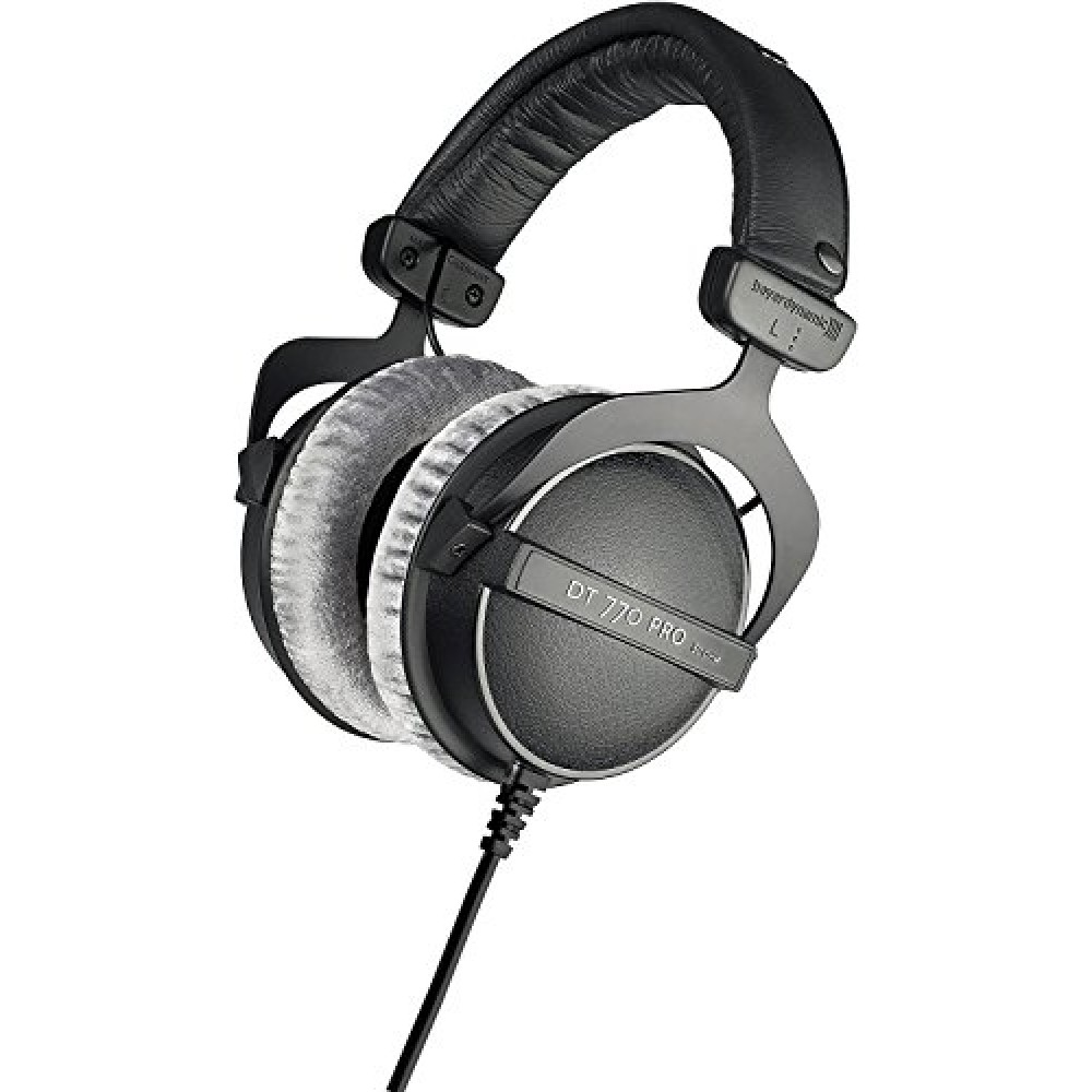 beyerdynamic dt 770 pro 80 ohm studio headphones. Black Bedroom Furniture Sets. Home Design Ideas