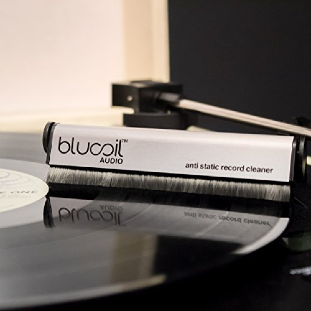 Blucoil Audio Carbon Anti Static Fiber Vinyl Lp Record