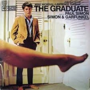 "Simon & Garfunkel The Graduate Original Columbia Records ""Two Eye"" Gray label Stereo release OS 3180 1960's Motion Picture Soundtrack Vinyl (1968)"