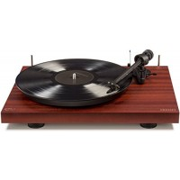 Crosley C10A-MA Hardwood Turntable with Low Vibration Synchronous Motor, Mahogany