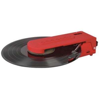 Crosley CR6020A-OR Revolution Portable USB Turntable with Software for Ripping & Editing Audio, Orange