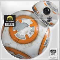 Wondercon 2016 Star Wars BB-8 FORCE AWAKENS Vinyl Record Disc LE1500
