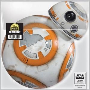 Wondercon 2016 Star Wars BB-8 FORCE AWAKENS Vinyl Record Disc LE1500