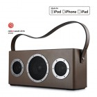 [Apple Airplay Certified]GGMM M4 Wireless Speaker for Music Streaming,Wi-Fi Bluetooth Indoor Outdoor Speaker, Built-in Battery,10-Hour Playtime,Pow...