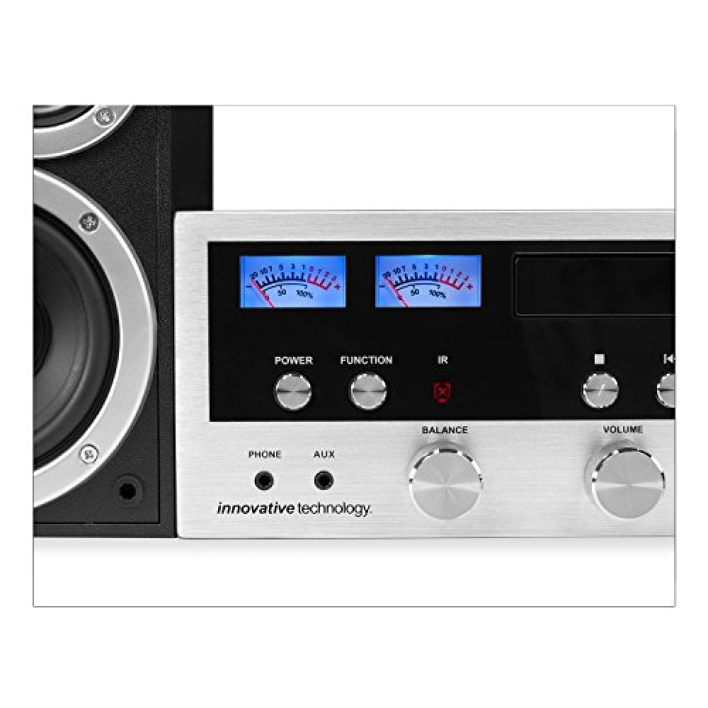 Innovative Technology Itcds 6000 Classic Retro Bluetooth