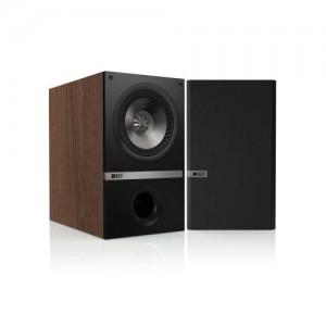 KEF Q100W Bookshelf Loudspeakers - American Walnut (Pair)
