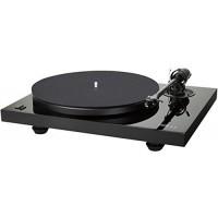 Music Hall - MMF-2.3 Black 2-Speed Manual Audiophile Turntable