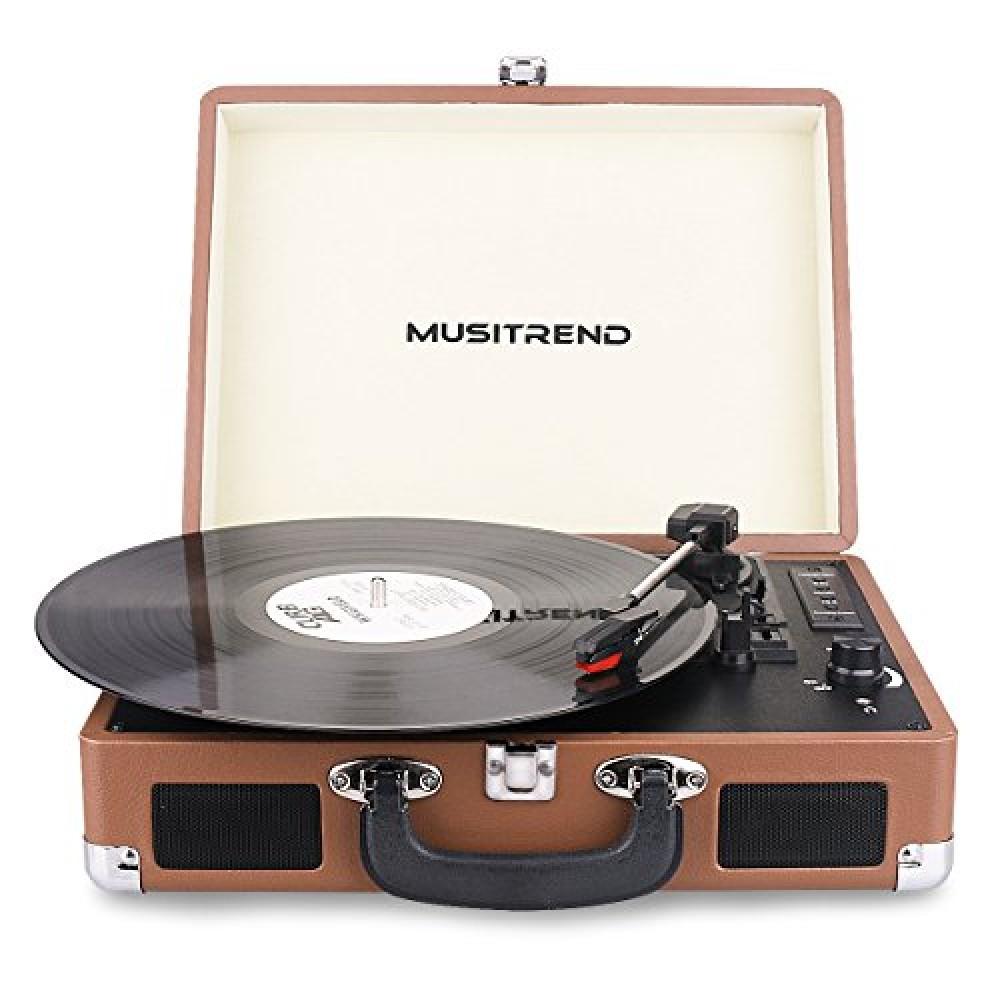 Bluetooth record player : Monogram jewelry box