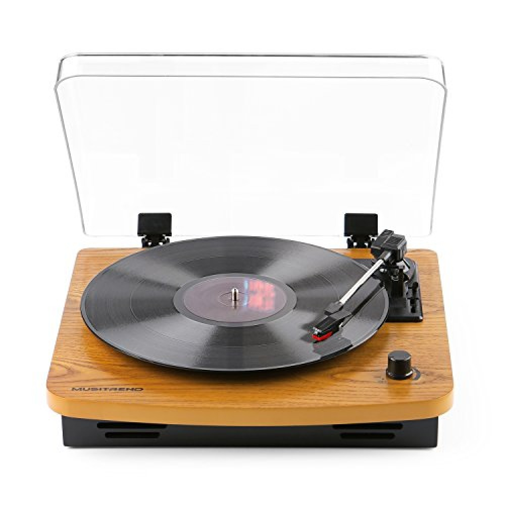 Musitrend Lp 3 Speed Turntable With Built In Stereo