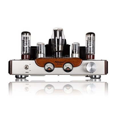 Nobsound® Hi-Fi Tube Amplifier, 110V input Voltage, Tubes: EL34*2 + 6N8P*2 +5Z3P*1 , Hi-end Tube Integrated Amplifier, Single Ended, 100% Handmade
