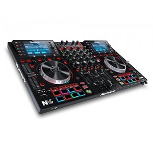 Numark NVII | DJ Controller for Serato DJ with Intelligent Dual-Display Screens & Touch-Capacitive Knobs