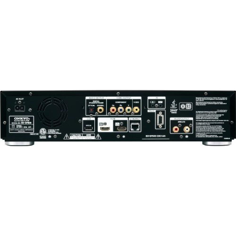 Onkyo Bd Sp809 Blu Ray Disc Player Black