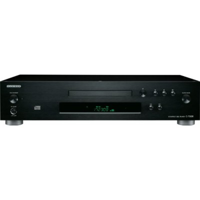 Onkyo C-7000R Reference Audiophile Grade CD Player (Black)