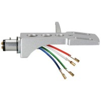 A-T Style Phono Headshell with Lead Wires & Gold Plated Contacts