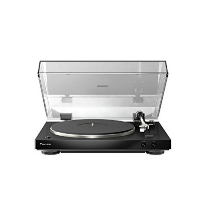 Pioneer PL-30-K Audiophile Stereo Turntable with Dual-Layered Chassis and Built-in Phono Equalizer