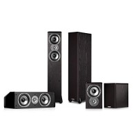 Polk Audio TSi300 5.0 Home Theater Speaker Package (Black)