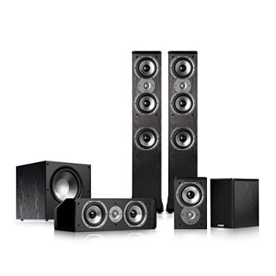 Polk Audio TSi400 5.1 Home Theater Speaker Package (Black)