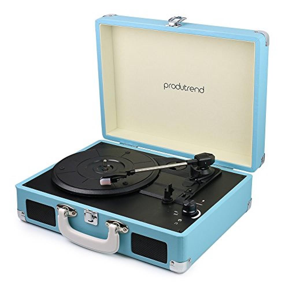 Produtrend Vinylpal Portable Record Turntable Suitcase