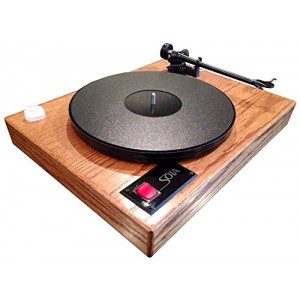 SOTA COMET Turntable with REGA S-303 tonearm-Genuine Dark Oak finish-Made in USA!