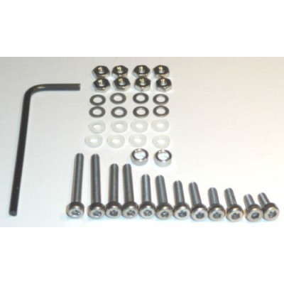 Deluxe Turntable Cartridge Headshell Mounting Bolt Screw Kit 39 Pieces