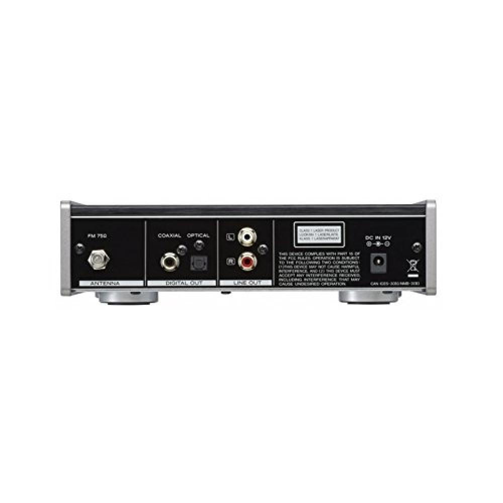 teac pd 301 b slot loading cd player usb fm tuner black. Black Bedroom Furniture Sets. Home Design Ideas