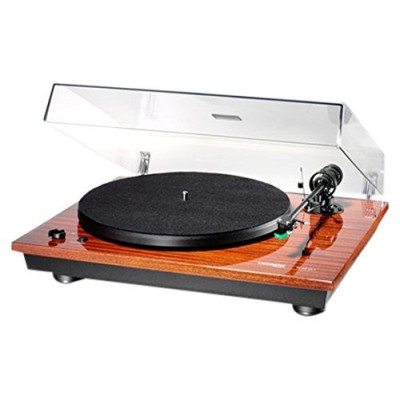 Thorens TD 295 MK IV Semi-Automatic Turntable - 33, 45rpm AT95E (Mahogany)