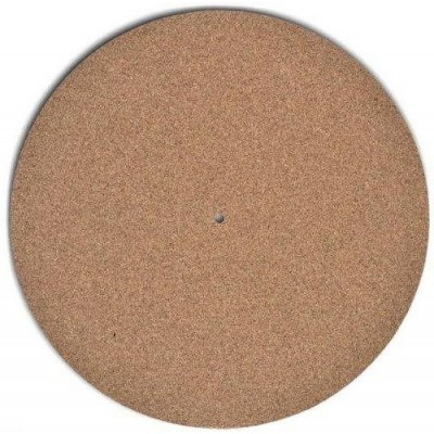(1) New Turntable Toys TC-1 Cork Audiophile Turntable Mat 1/4-inch thick